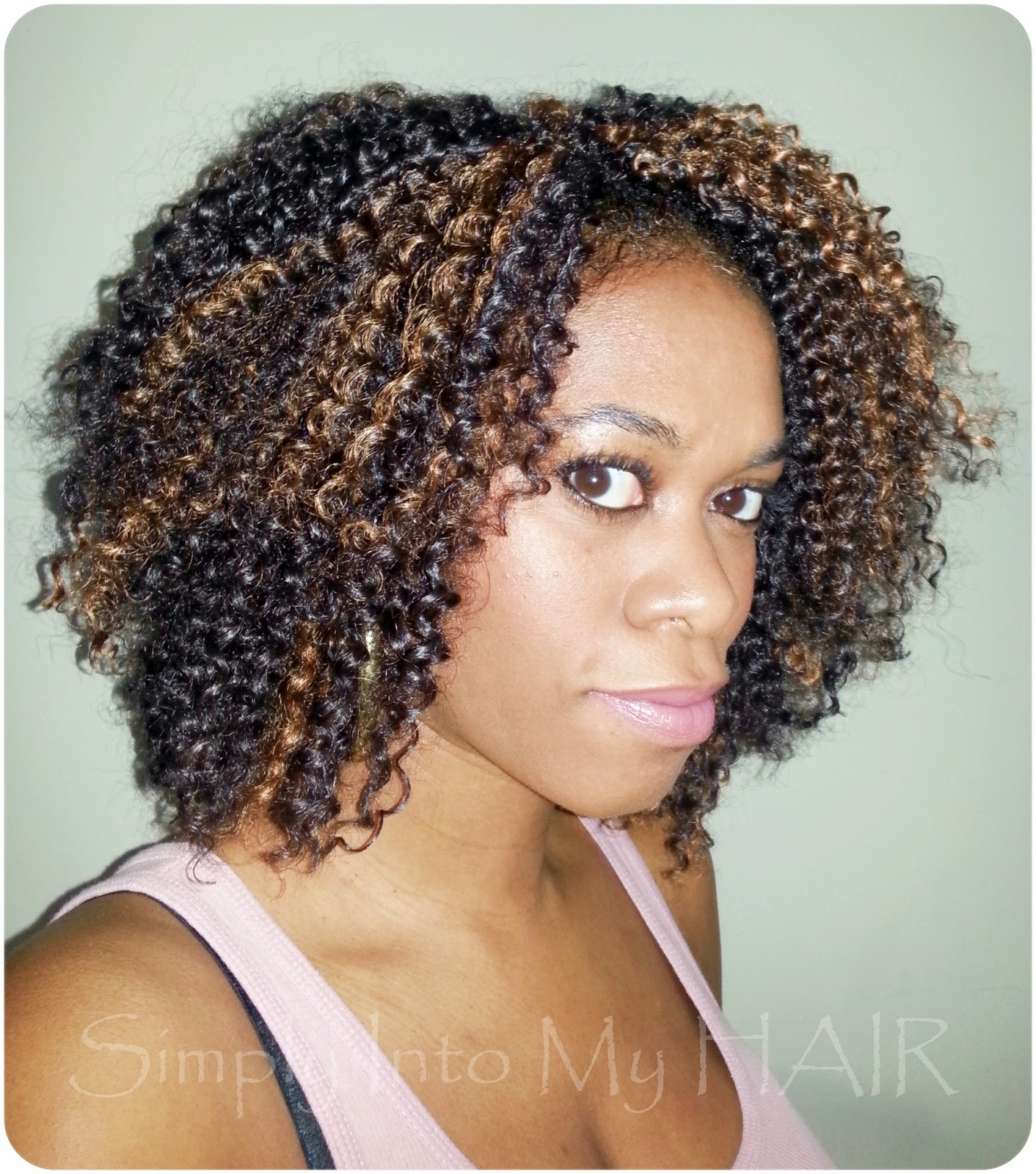 Crochet Hair : Crochet Braids #7 Simply Into My HAIR
