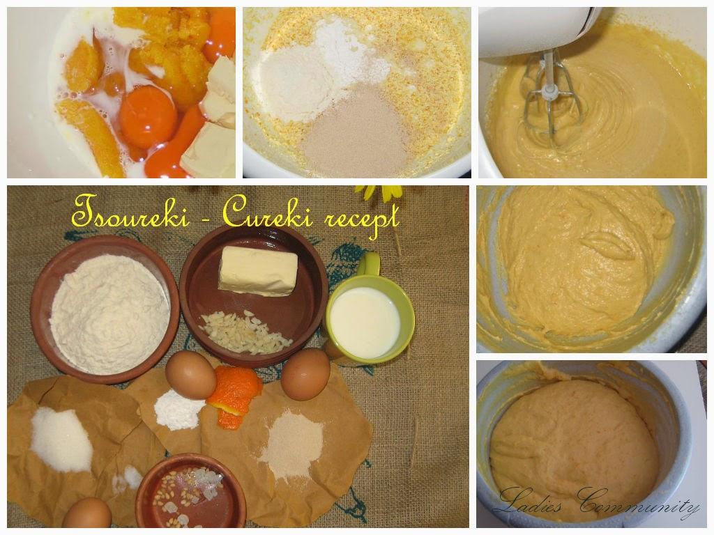 Recept: Cureki [Tsoureki] tradicionalni grčki Uskršnji hleb