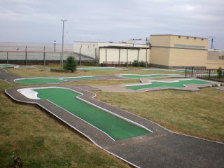 Arnold Palmer Crazy Golf course in Cleethorpes, Lincolnshire