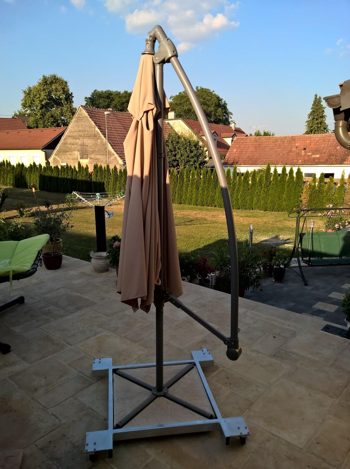 Holz Und Metall Ein Heimwerkerblog Schirmstander Auf Rollen