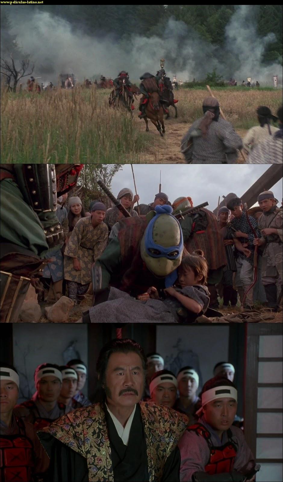 Captura Las tortugas ninja 3 HD 1080p Dual 1993