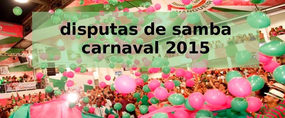 DISPUTAS DE SAMBA 2015