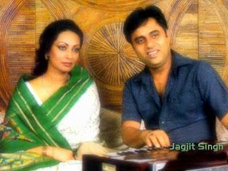 Jagjit Singh with Chitra Singh