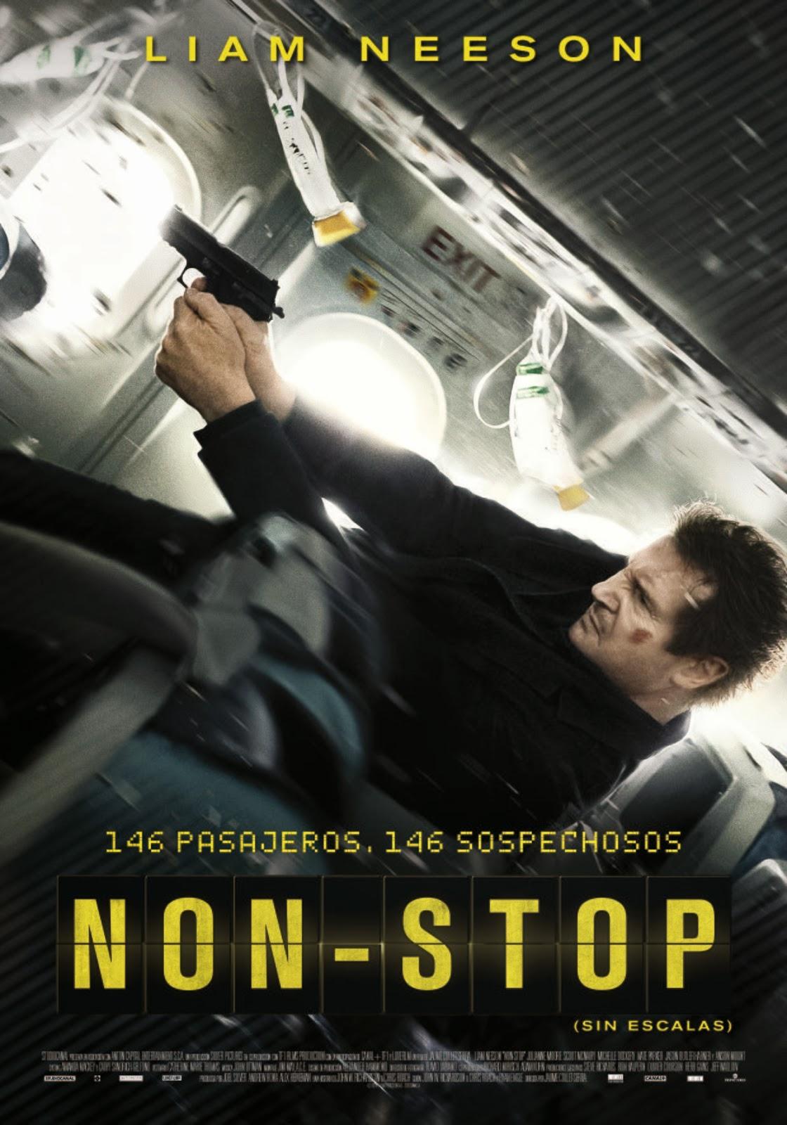Non-stop, una película de Jaume Collet-Serra