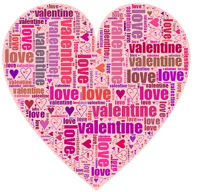 cuoricino romantico con i nomi innamorati