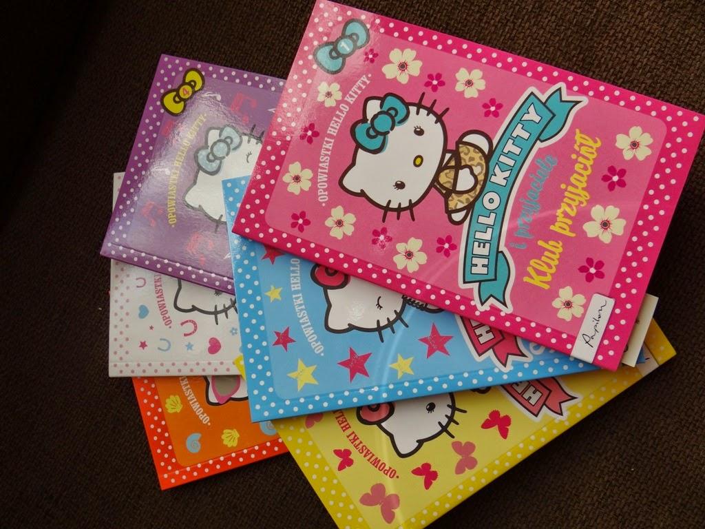 Hello Kitty, seria książeczek dla dzieci