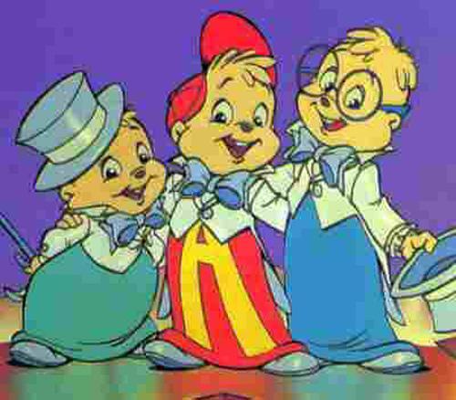 Ochentas TV: Caricatura: Alvin y las Ardillas