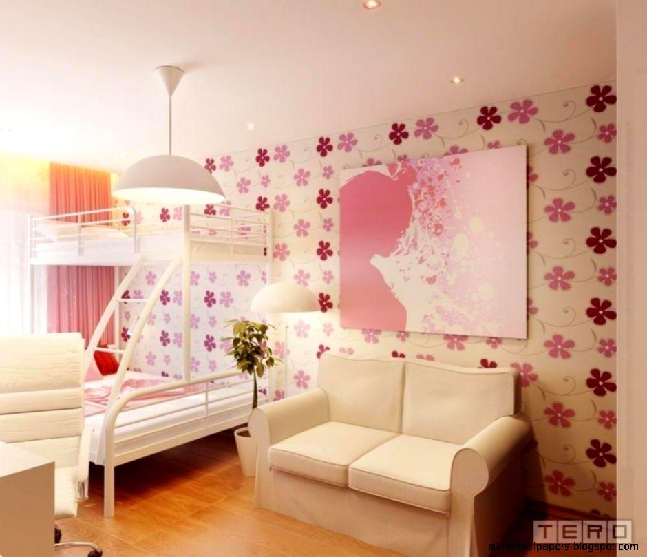 Lovely Wallpaper Choices for Girls Room