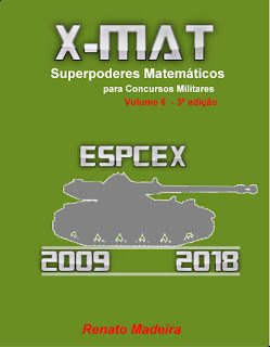 Livro X-MAT EsPCEx 2009-2018 por R\$ 57,35!
