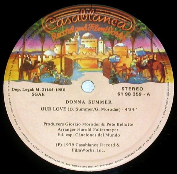 disco nuestro amor: