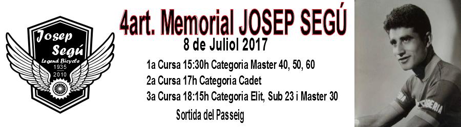 4art. Memorial JOSEP SEGÚ