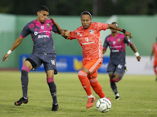 Con drama:Cibao FC se agrandó en los minutos finales y ganó partido de ida a Pantoja