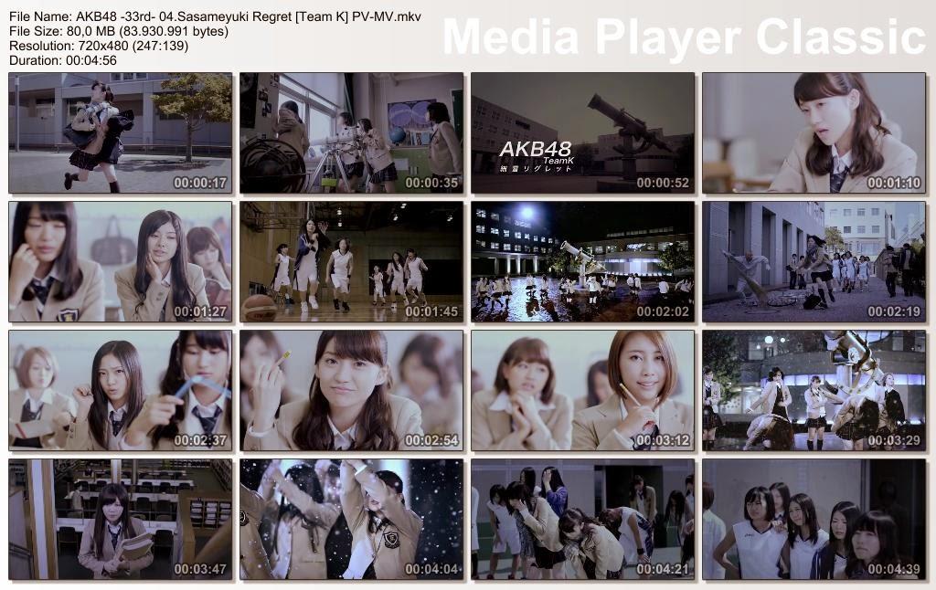 AKB48+-33rd-+04.Sasameyuki+Regret+[Team+K]+PV-MV.mkv_thumbs_[2013.10.30_04.55.29].jpg (1024×646)