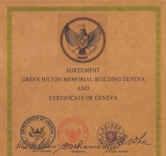Green Hilton Memorial Agreement Geneva 1963