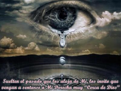 A veces lloras sin saber bien por qué, incluso sientes que no estás cerca de Dios.