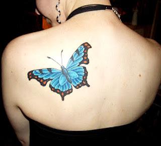 sugestões e ideias de Tatuagens de Borboletas