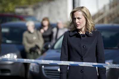 DSI Stella Gibson (Gillian Anderson) in BBC2's The Fall