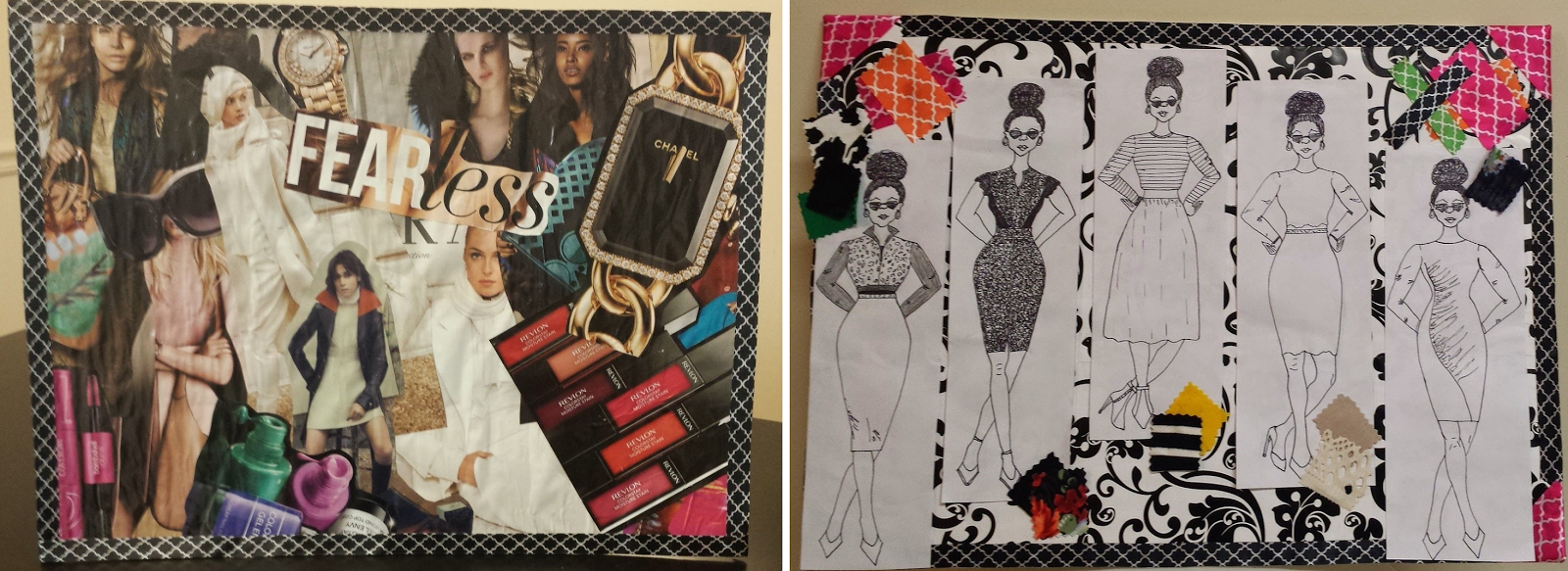 Rhianna's Studio Mood board Fashion Design Storyboard Fall 2014