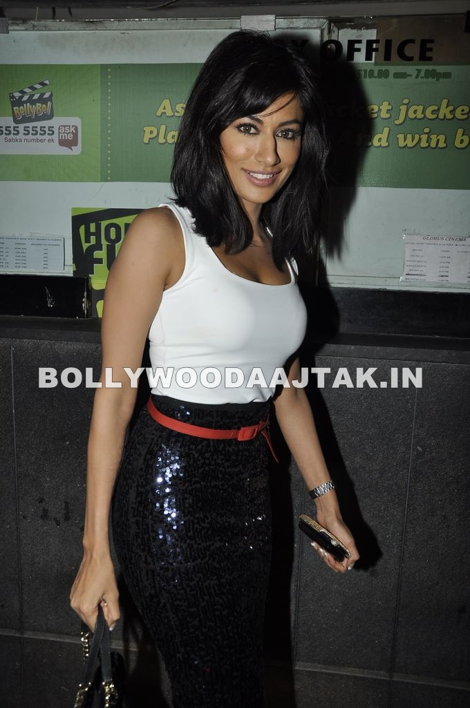, Chitrangda Singh At Desi Boyz Screening