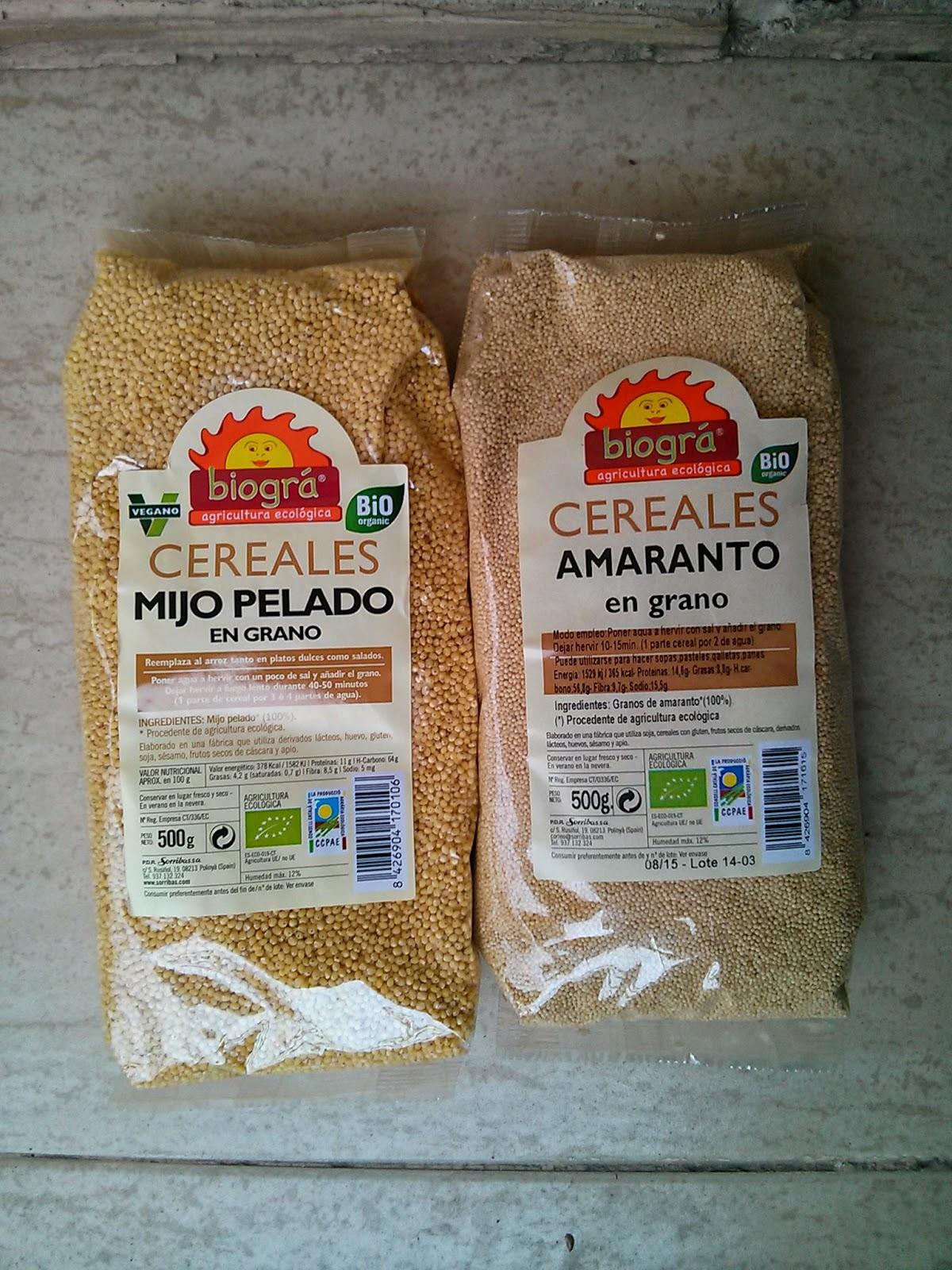 Cereales en Grano ECO