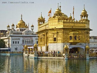 Amritsar Golden Teple lake picture