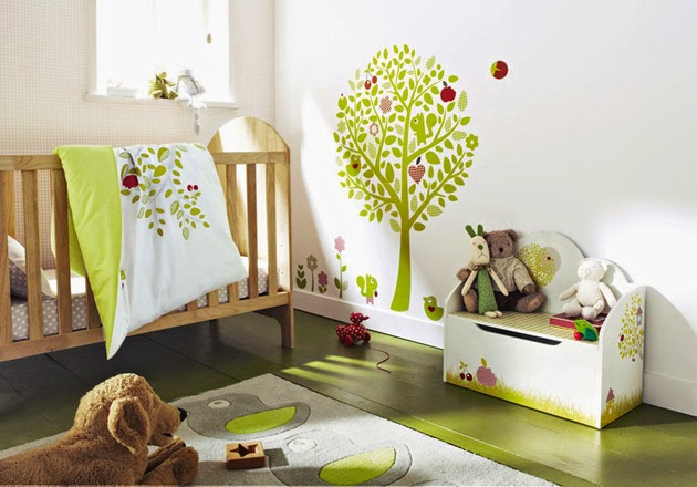 Colores habitación bebés cómo decorar la habitación del bebé