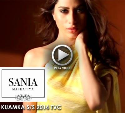 Sania Maskatiya - KUAMKA S/S 2014 TVC