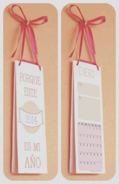 Calendario 2014 Imprimible Mamá Convergente