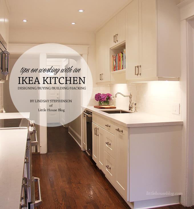 of little house blog designed a gorgeous galley kitchen from ikea ...