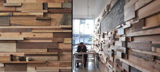 Revestimientos de pared de madera ii espacios en madera - Revestimiento madera paredes ...
