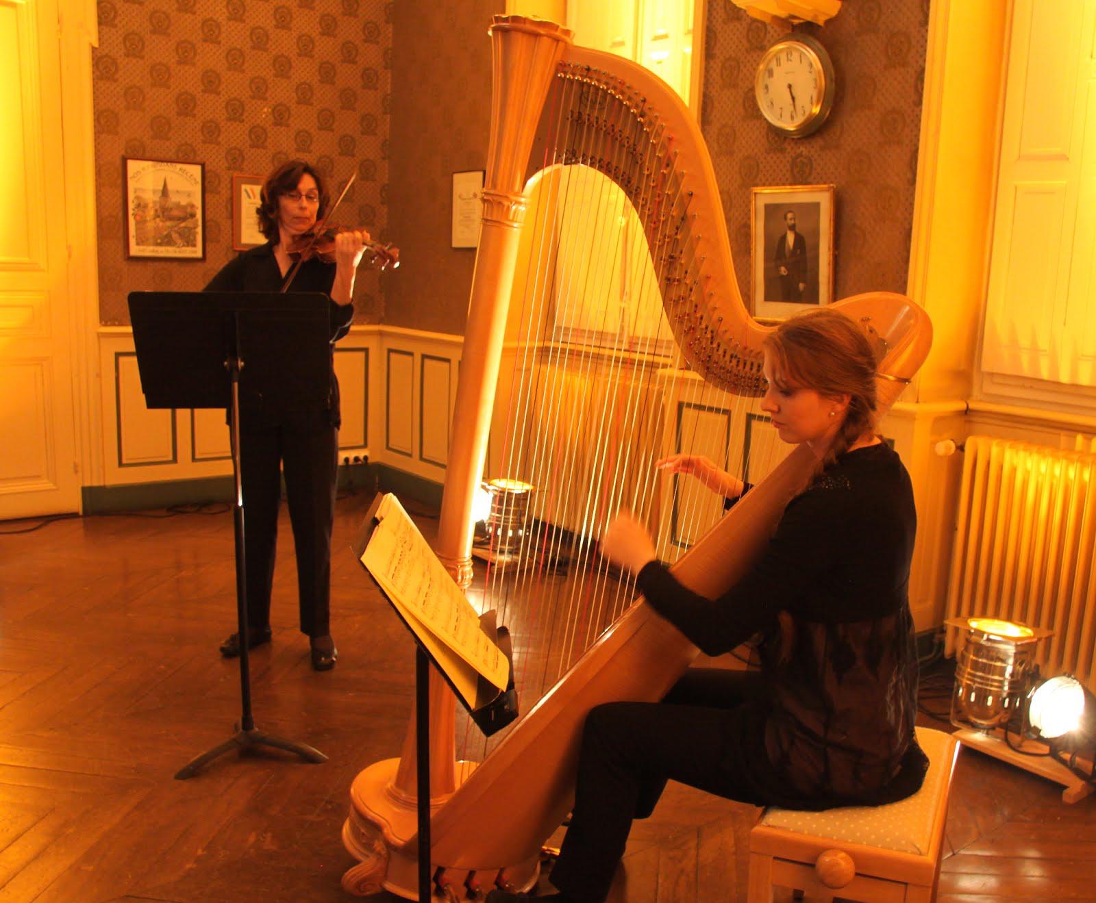 Duo Harpe et Violon