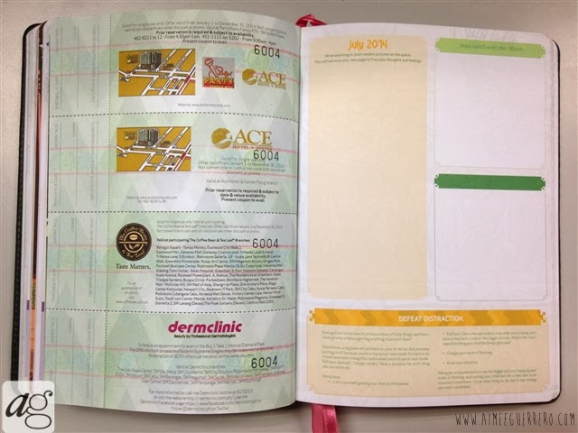 Belle De Jour Power Planner 2014 Monthly Tasks