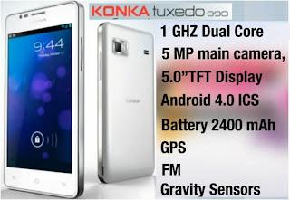 Konka Tuxedo 990 price in India image