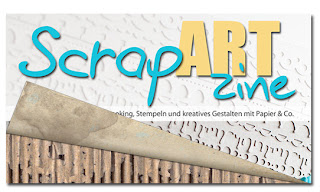 ScrapARTzine Sommer 2012, cover sneak