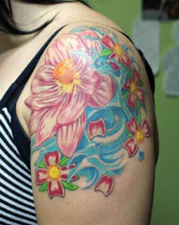 Lotus Flower Tattoos, Tattooing