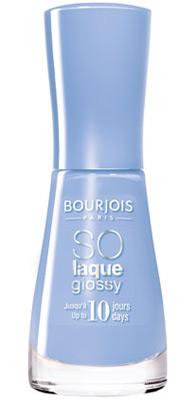 esmaltes de unas Bourjois So Laque Glossy azul