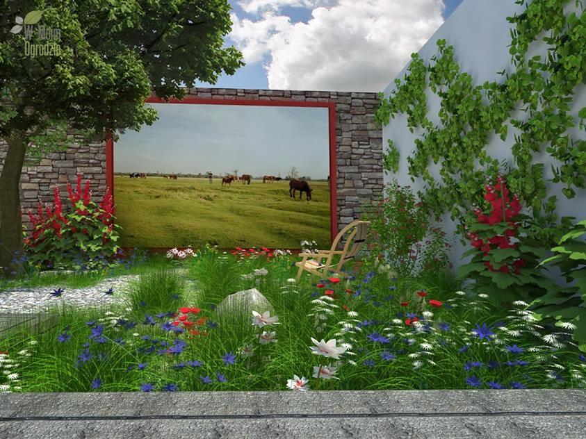projektowanie ogrodow naturalistycznych, wiejskich