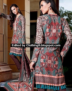 Gul Ahmed Winter Collection 2015 2016