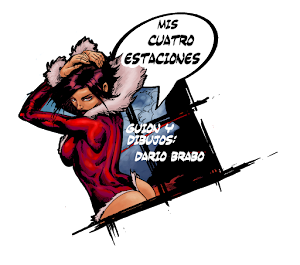 """""""MCE"""" (mis cuatro estaciones) guión y dibujos: Dario Brabo"""