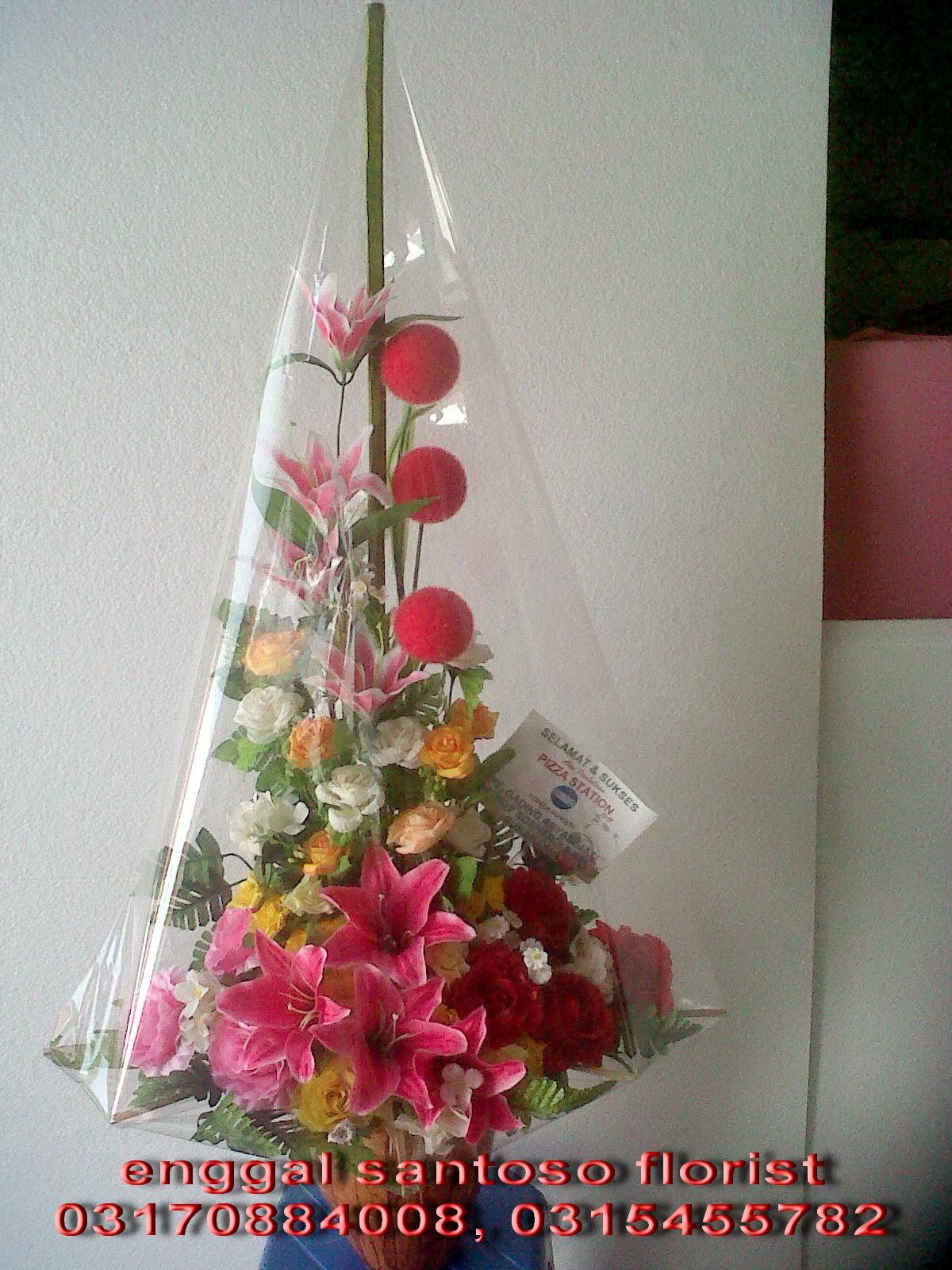 bouquet bunga meja artificial