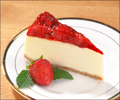 Eats & Treats: Strawberry Cheesecake