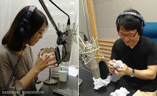 secret of Samsung iconic ringtone
