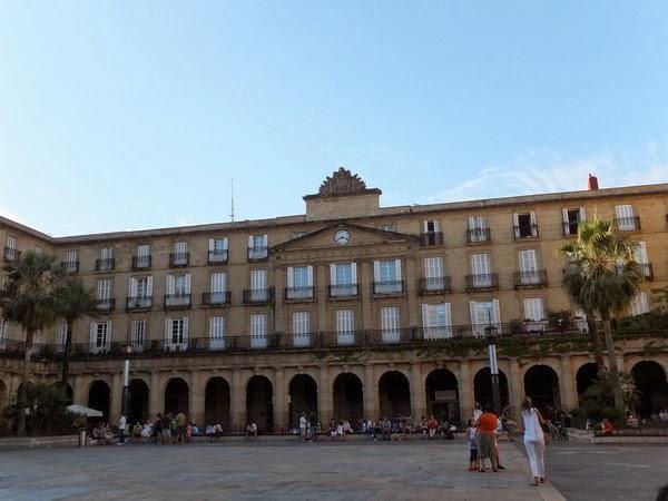 espagne bilbao vieille ville plaza nueva