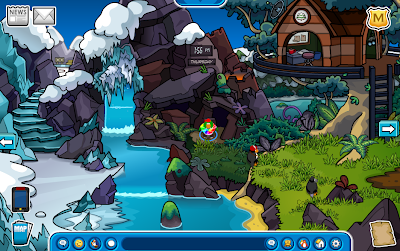 Club Penguin Earth Day Party 2012