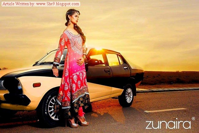 Zunaira Fancy Formal Winter Collection 2014
