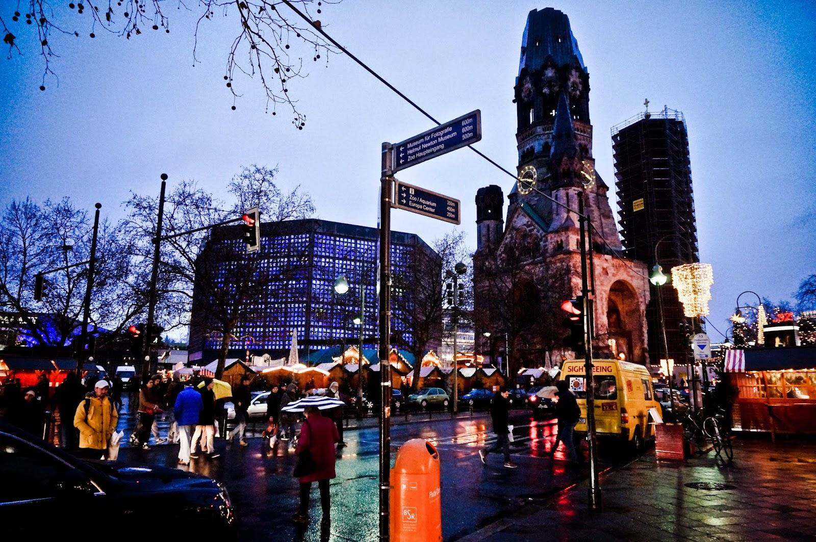 Ku'damm, kościół pamięci, Berlin