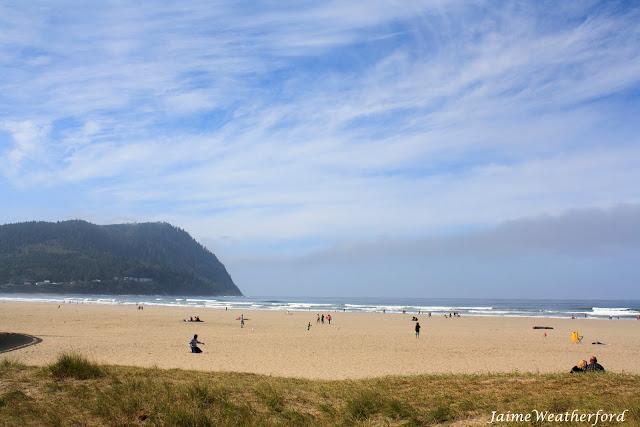 Seaside Beach Oregon Coast Jaime Weatherford