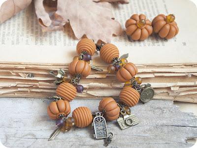 https://www.etsy.com/listing/177656763/pumpkin-unique-halloween-bracelet-beige