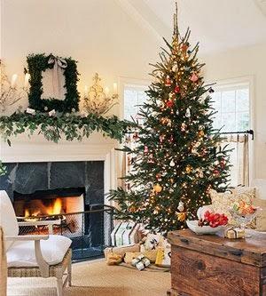Decoracion de chimeneas para navidad parte 2 - Chimeneas decoradas ...