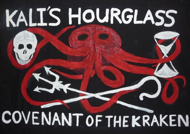 S. S. Kali's Hourglass-  Covenant of the Kraken